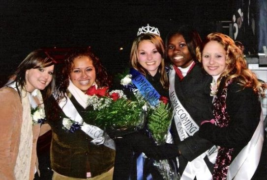 Homecoming court Highschool 2007